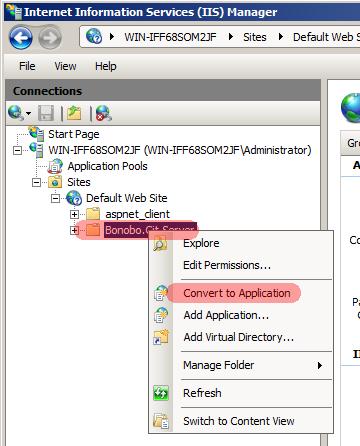 Server Installation: Git Server Installation